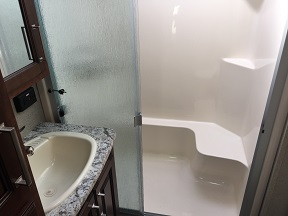 Large shower stall