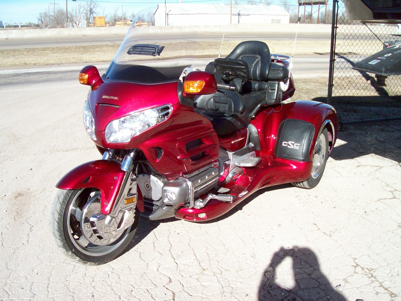 California Sidecar CSC Cobra Trike Conversion Honda 1800 Goldwing